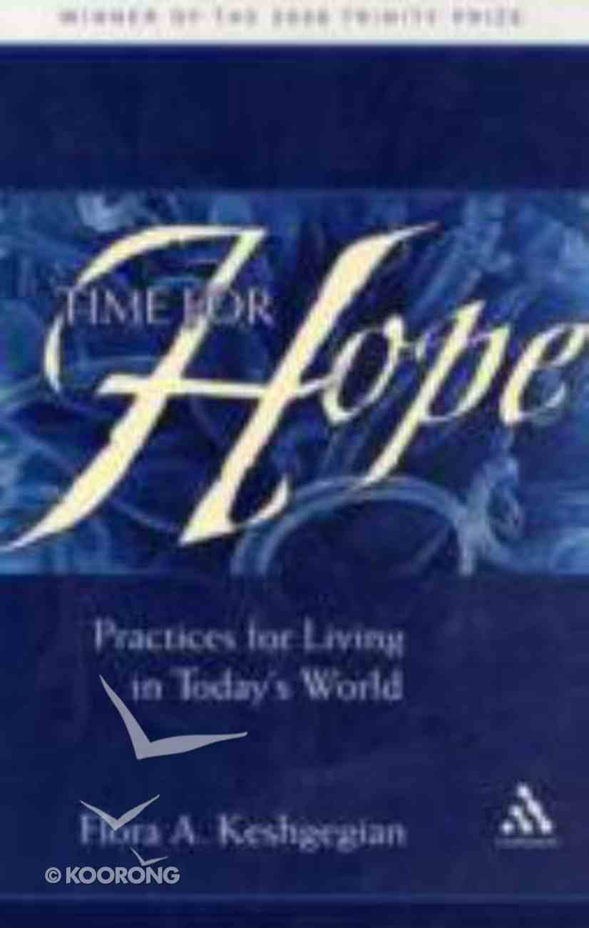 Time For Hope Paperback