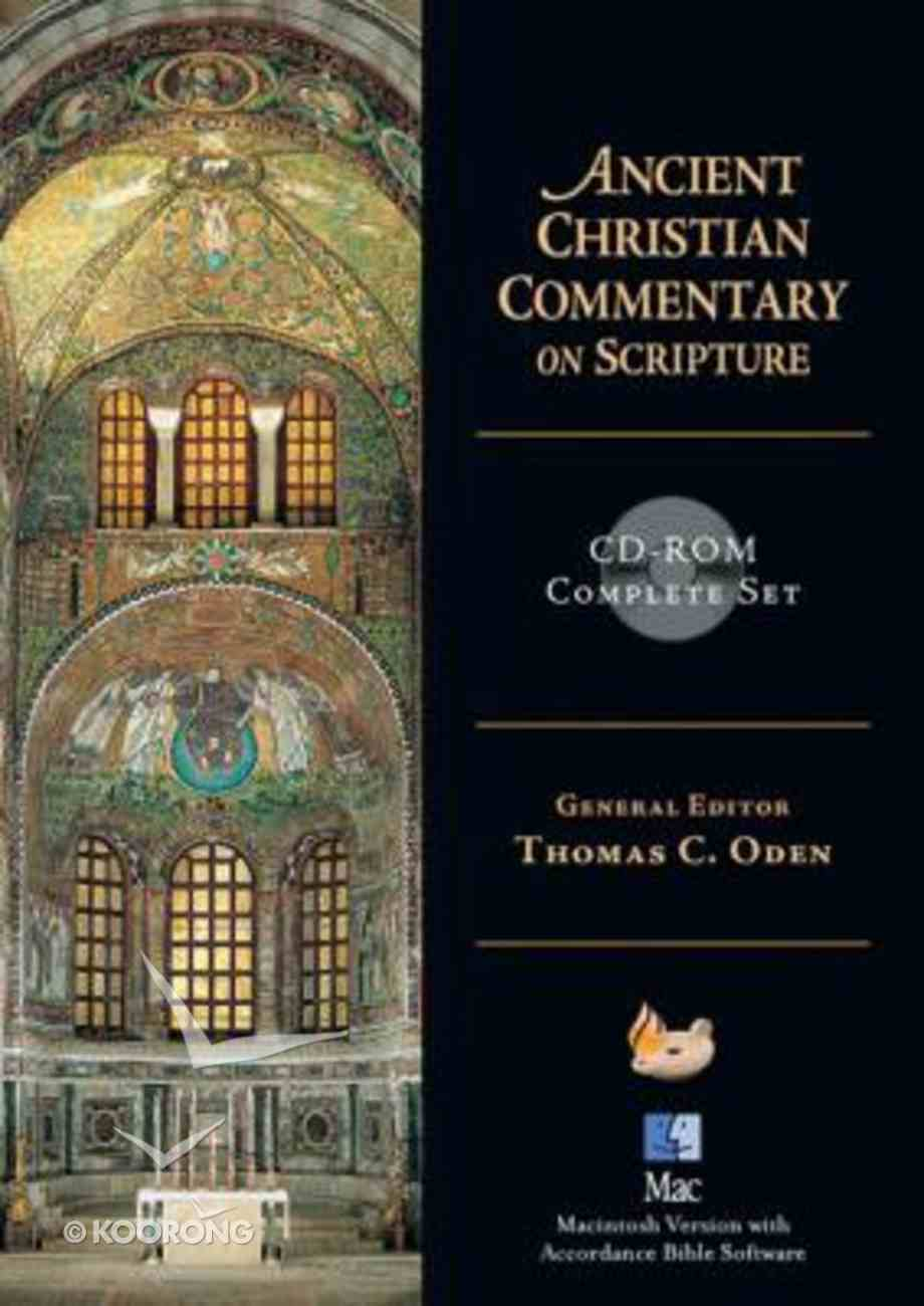 Ancient Christian Commentary on Scripture Whole Set (Cdrom Mac) CD-rom