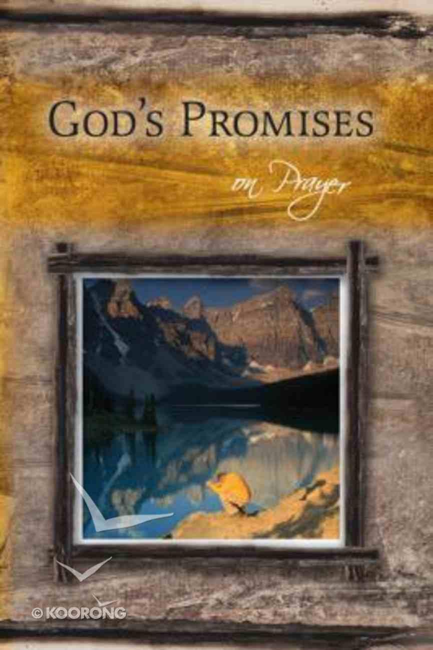 God's Promises: On Prayer Paperback
