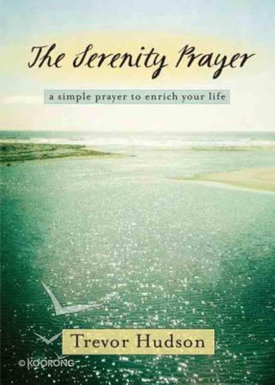The Serenity Prayer Paperback