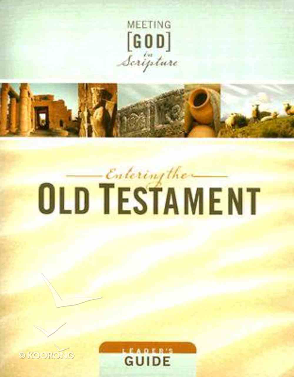 Entering the Old Testament (Leader's Guide) (Meeting God In Scripture Series) Paperback