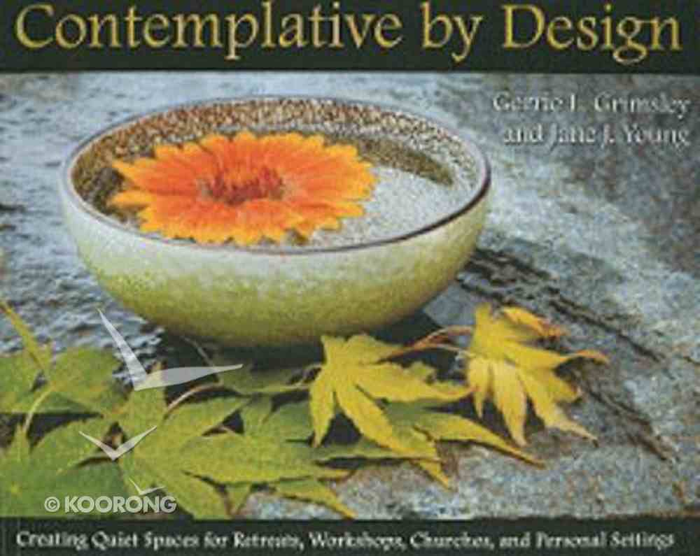 Contemplative By Design Paperback
