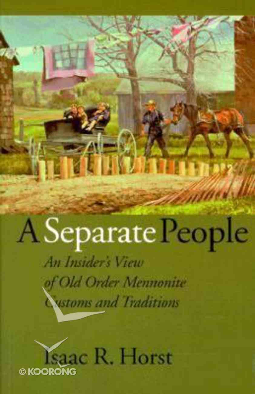 A Separate People Paperback