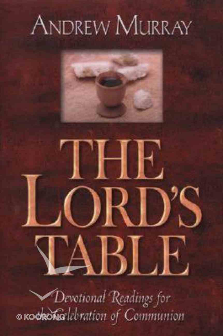 The Lord's Table Paperback
