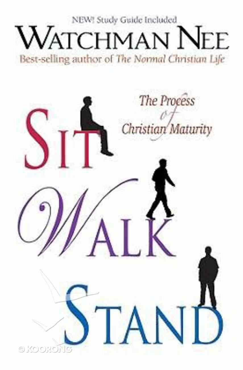 Sit, Walk, Stand Paperback