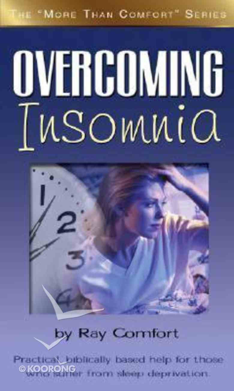 Overcoming Insomnia Paperback