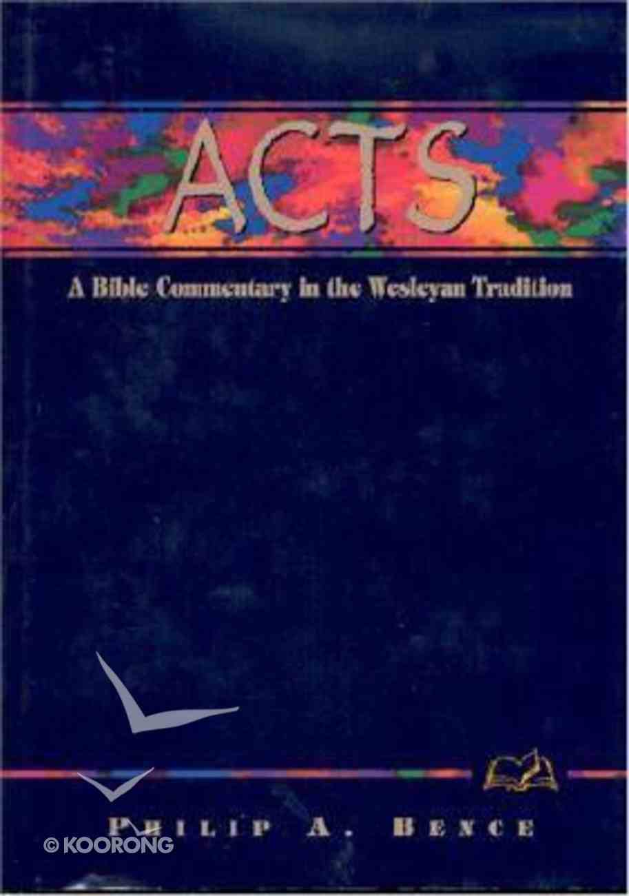 Acts (Weslyn Bible Study Commentary Series) Hardback