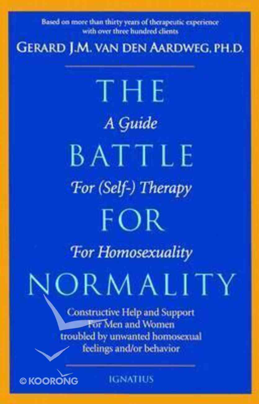 The Battle For Normality Paperback