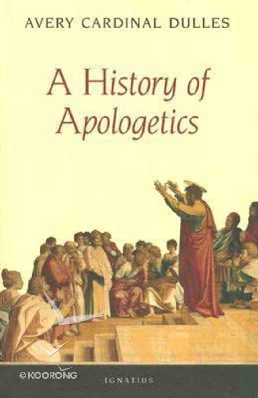 History of Apologetics Paperback