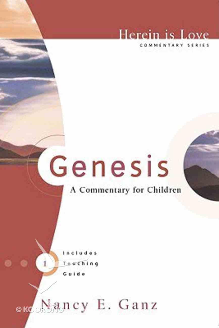 Herein is Love: Genesis Paperback