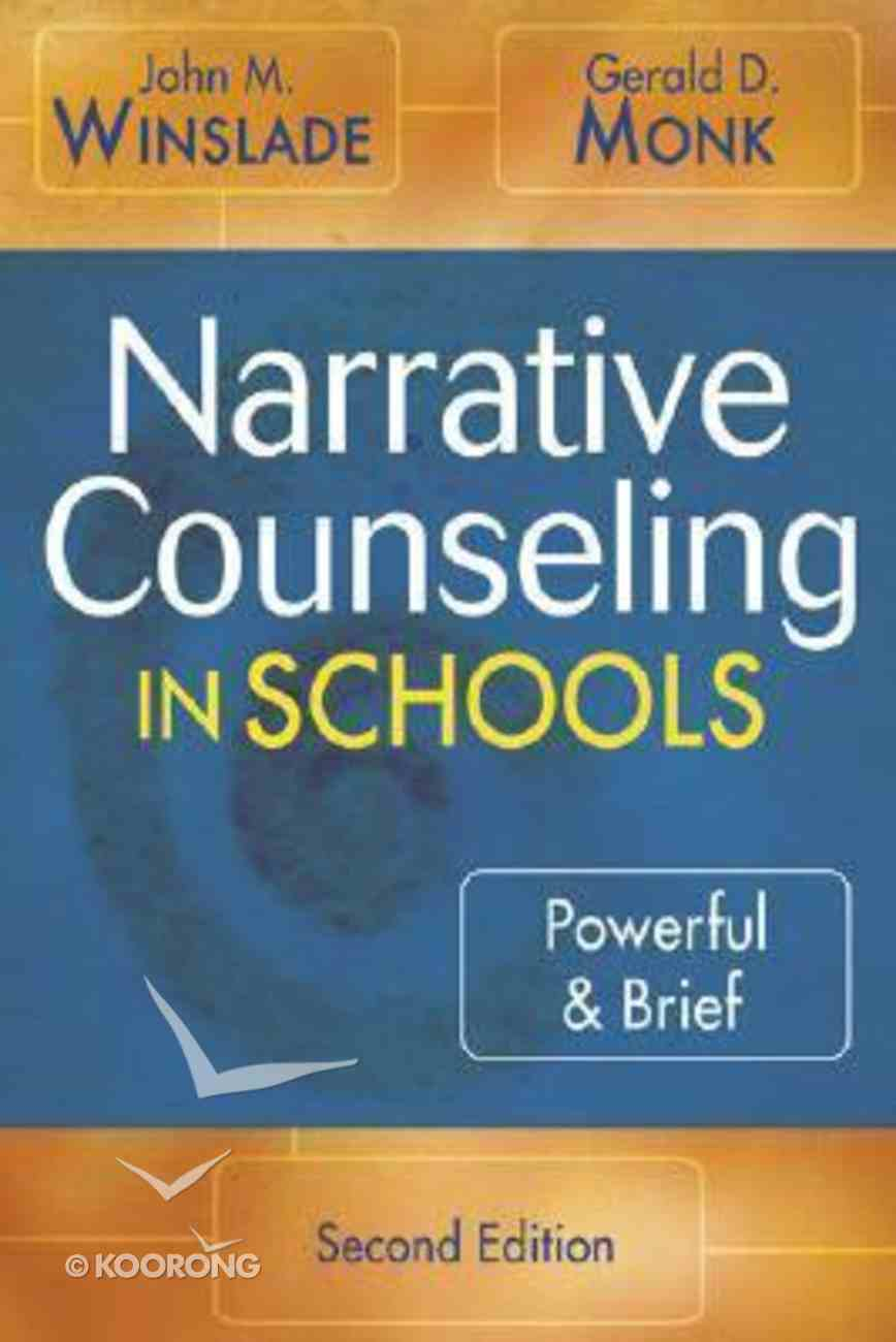 Narrative Counseling in Schools Paperback