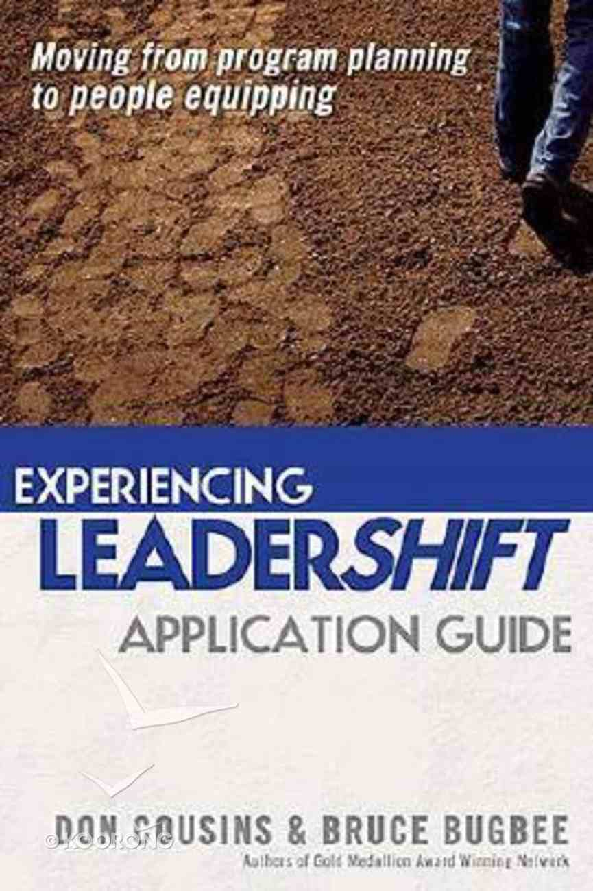 Experiencing Leadershift (Manual With Dvd) Paperback