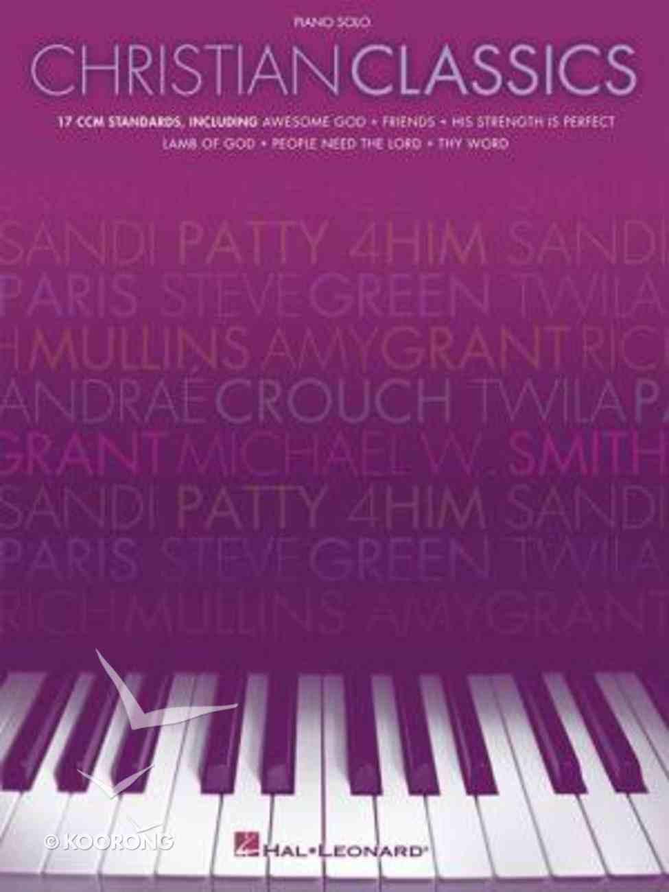 Christian Classics (Music Book) Paperback