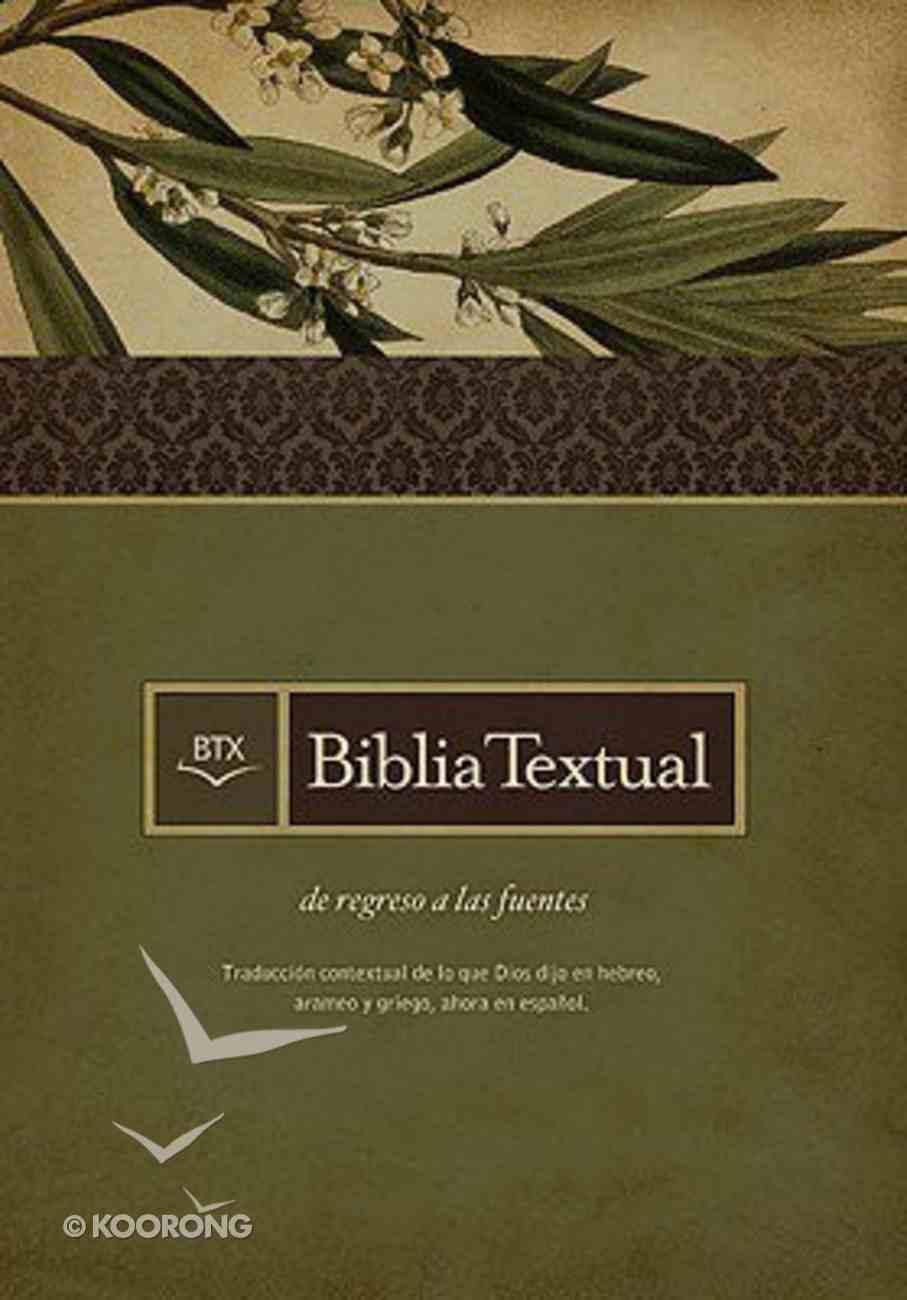 Biblia Textual Con Indice Color Negro Bonded Leather