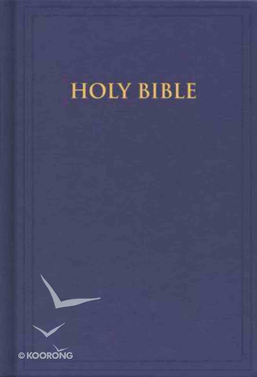 KJV Pew Bible Blue Hardback