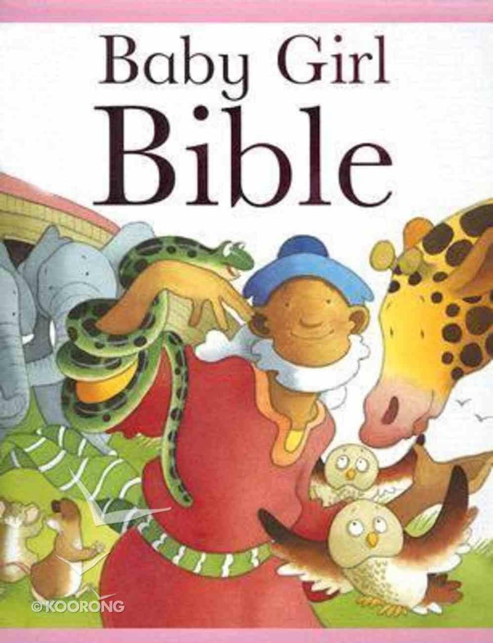 Baby Girl Bible Hardback