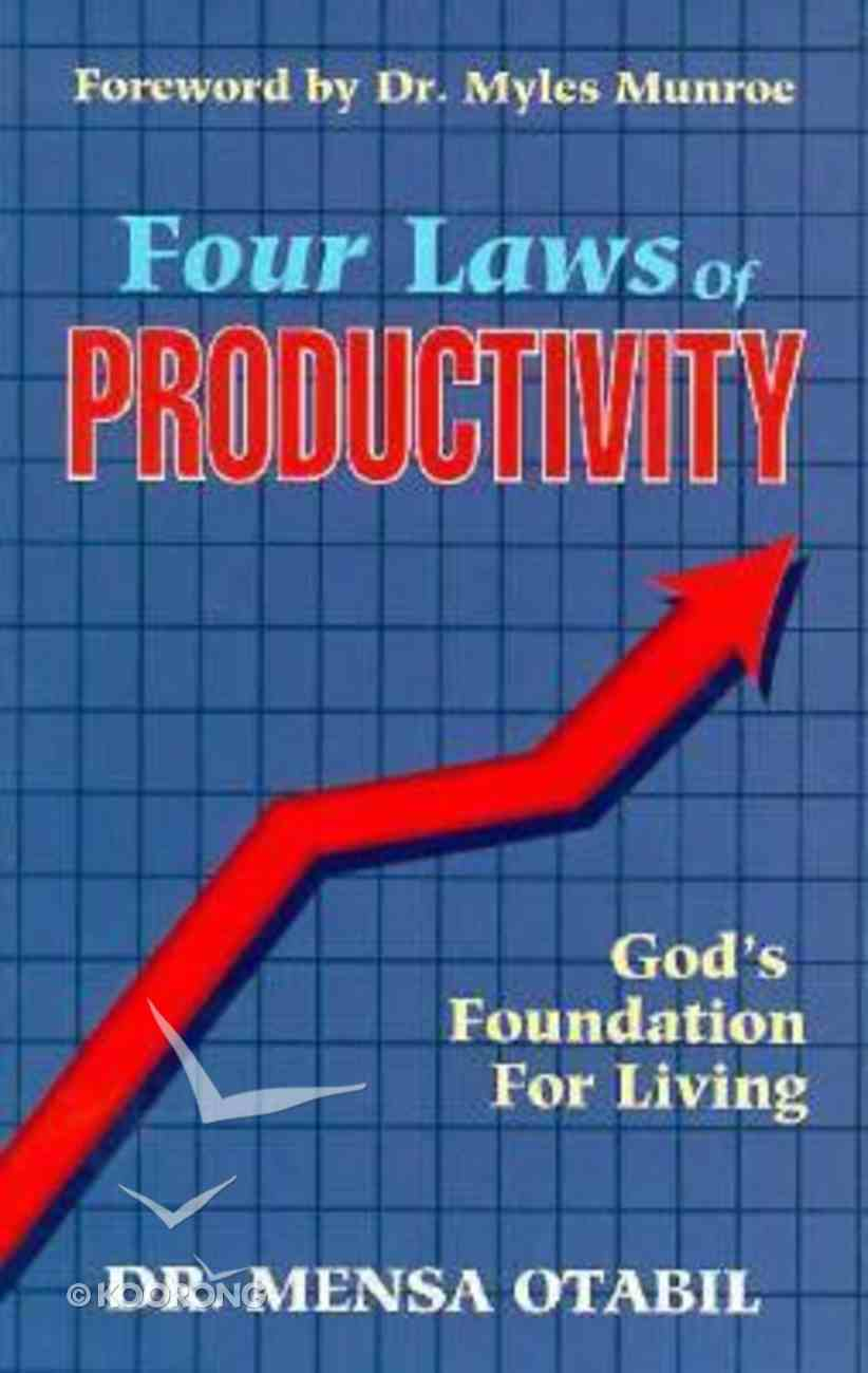 Four Laws of Productivity Paperback