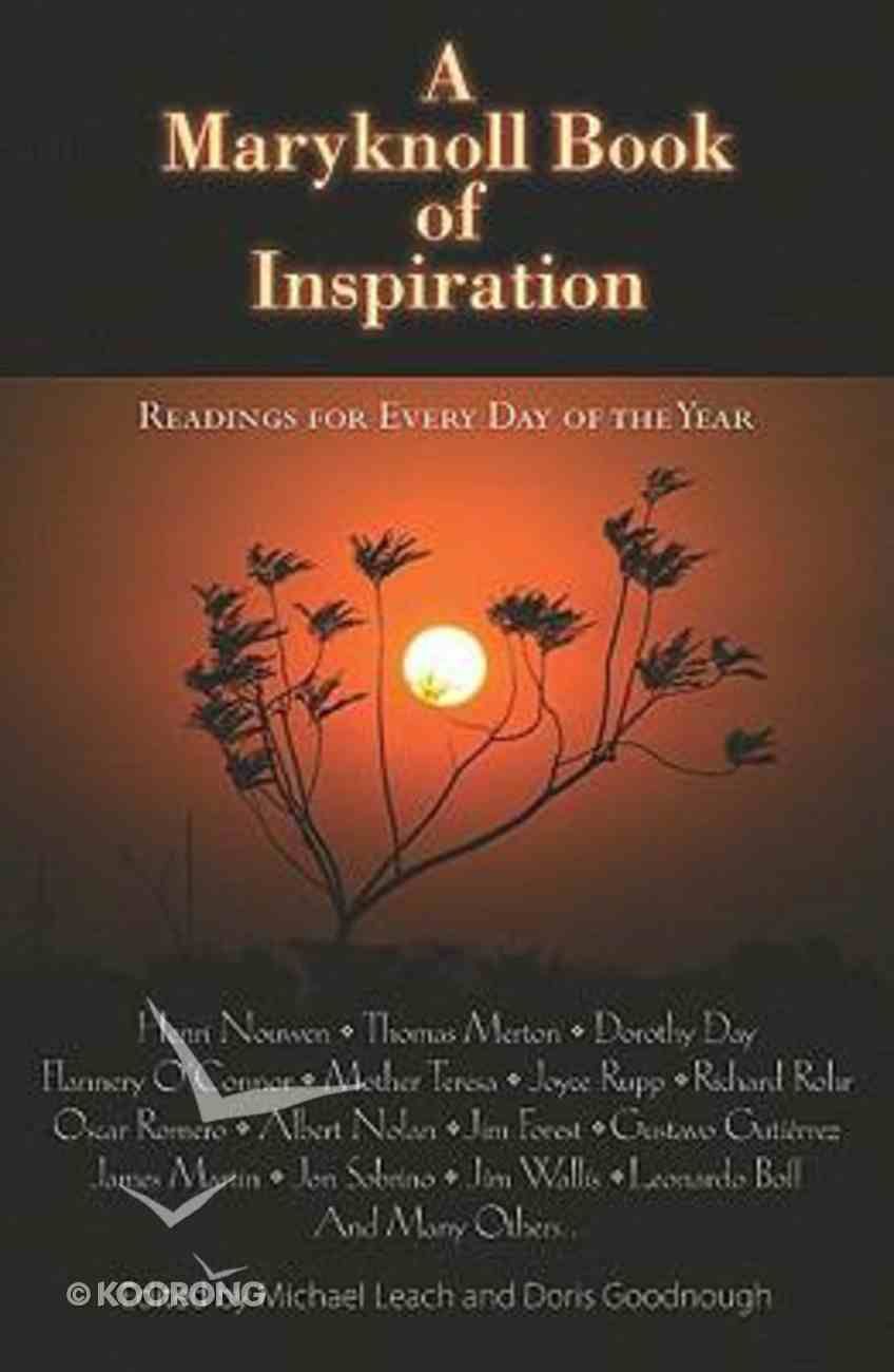 A Maryknoll Book of Inspiration Paperback