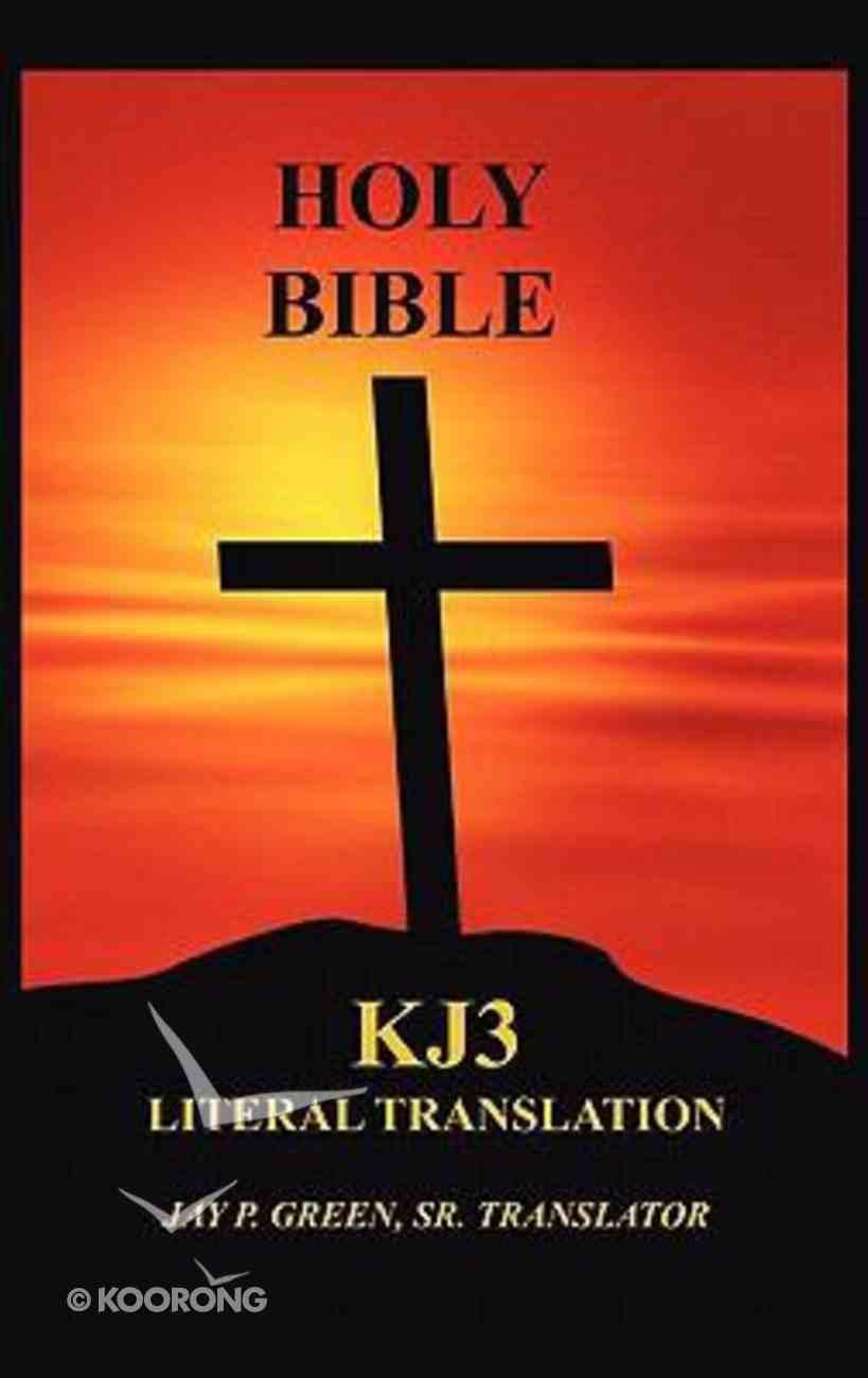 Kj3 Literal Translation Bible Memorial Edition Hardcover Hardback