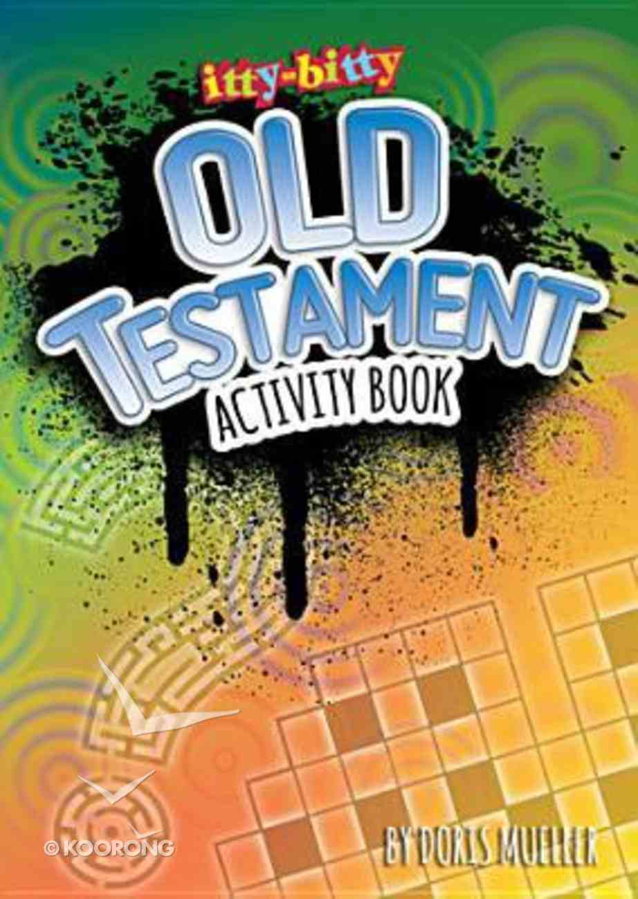 Activity Book Old Testament (Itty Bitty Bible Series) Paperback