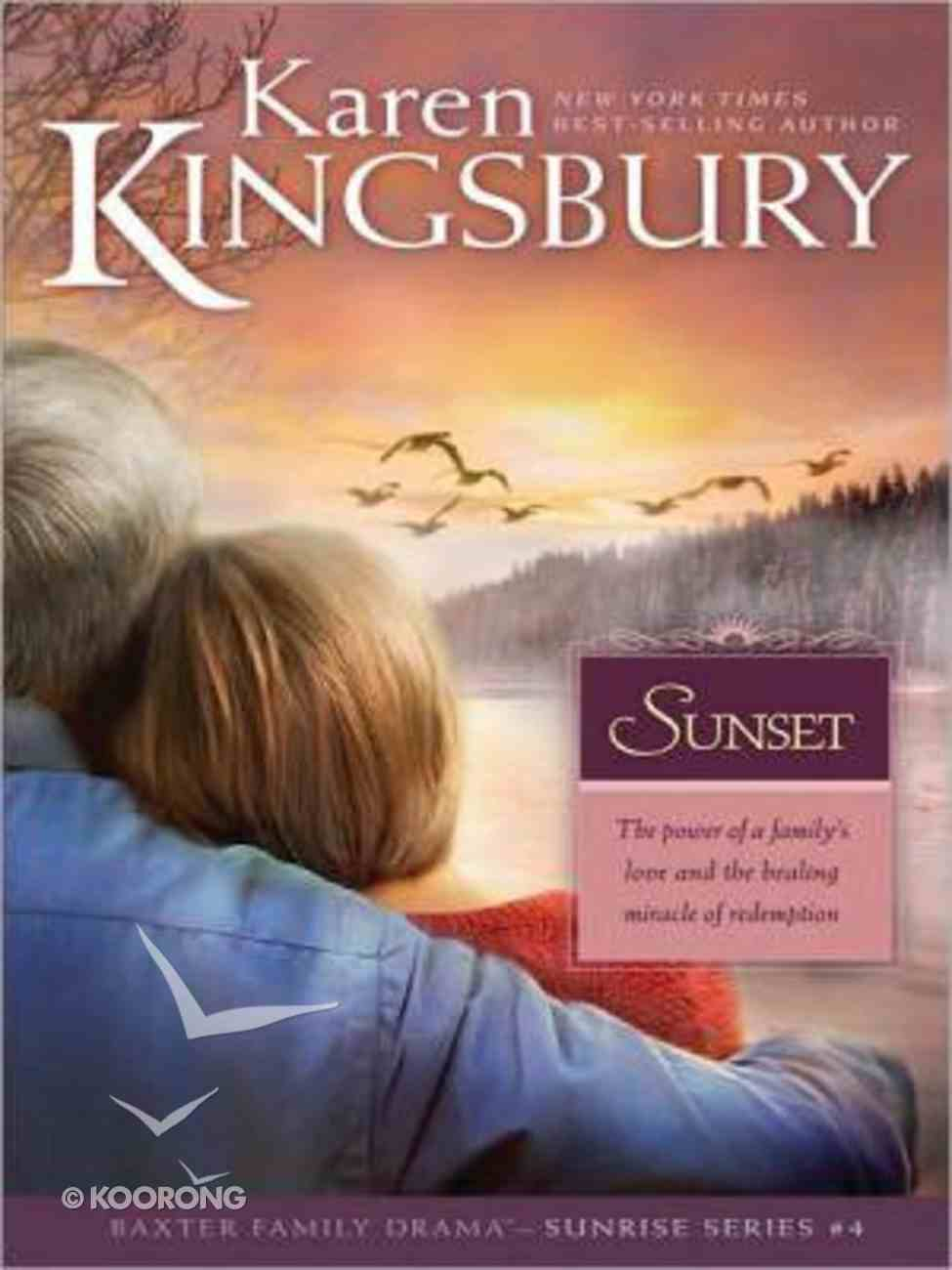 Sunset (Large Print) (#04 in Sunrise Series) Paperback