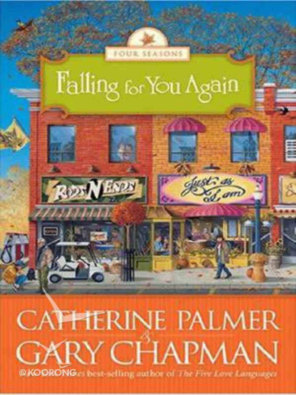 Falling For You Again (Large Print) (#03 in Four Seasons Series) Paperback