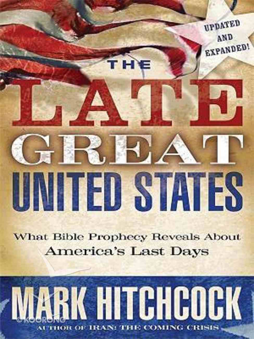 The Late Great United States (Large Print) Paperback