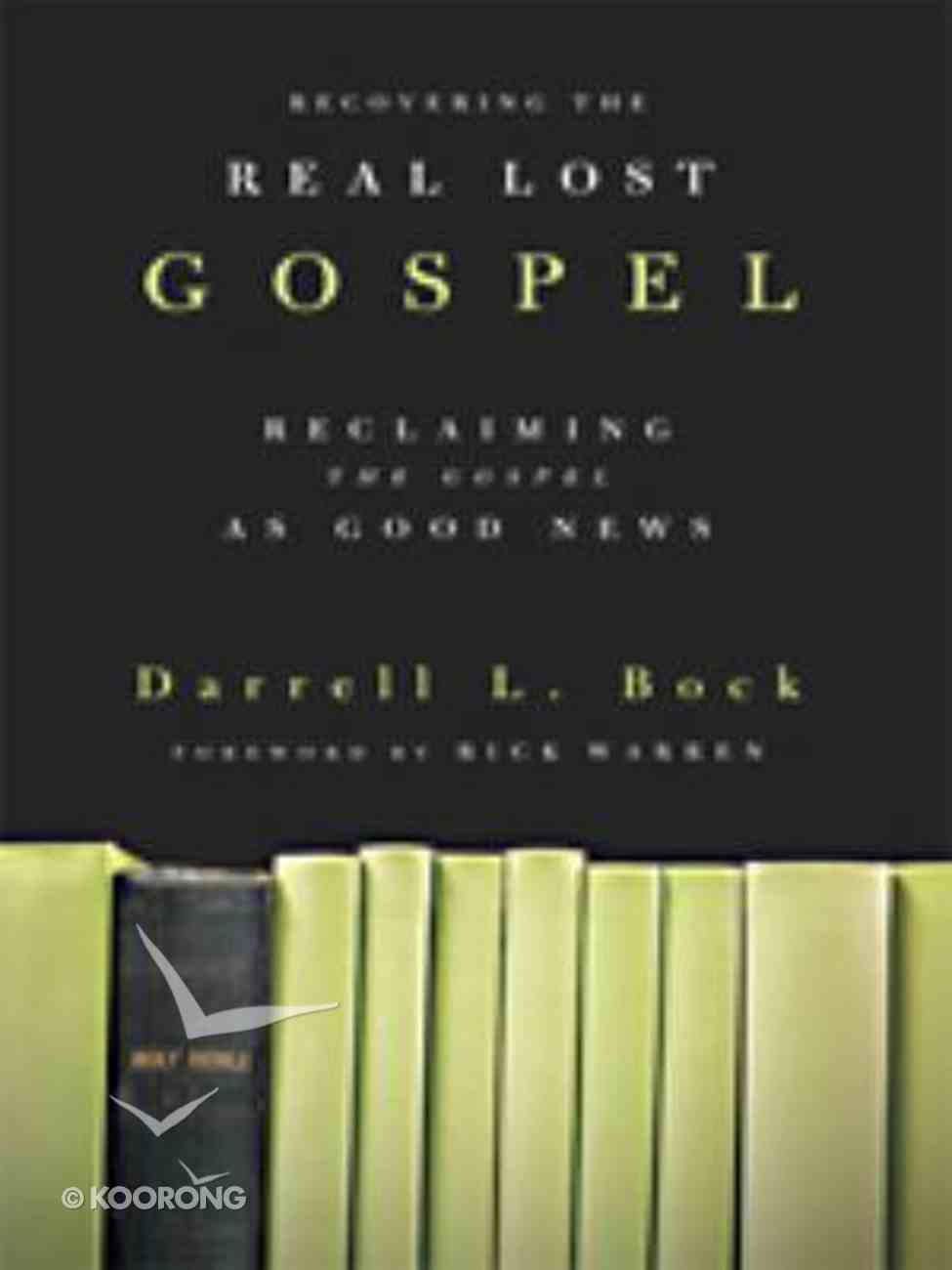 Recovering the Real Lost Gospel (Large Print) Paperback