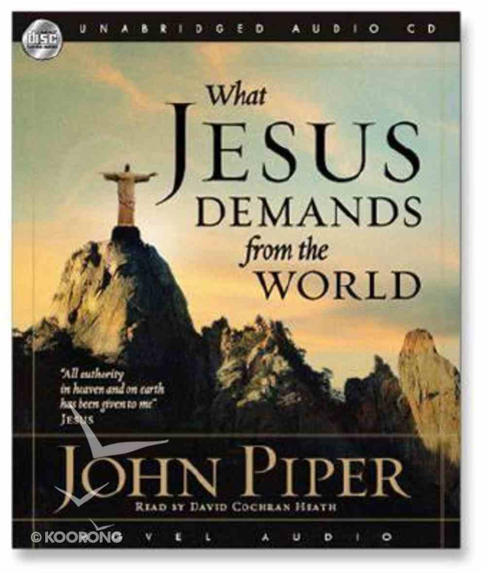 What Jesus Demands From the World (Unabridged) (Mp3cd) CD