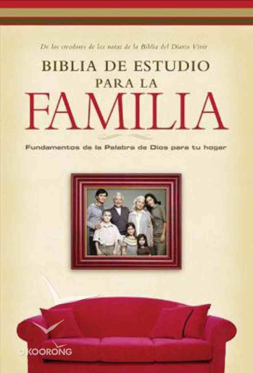 Nvi Biblia De Estudio Para La Familia, Black Bonded Leather
