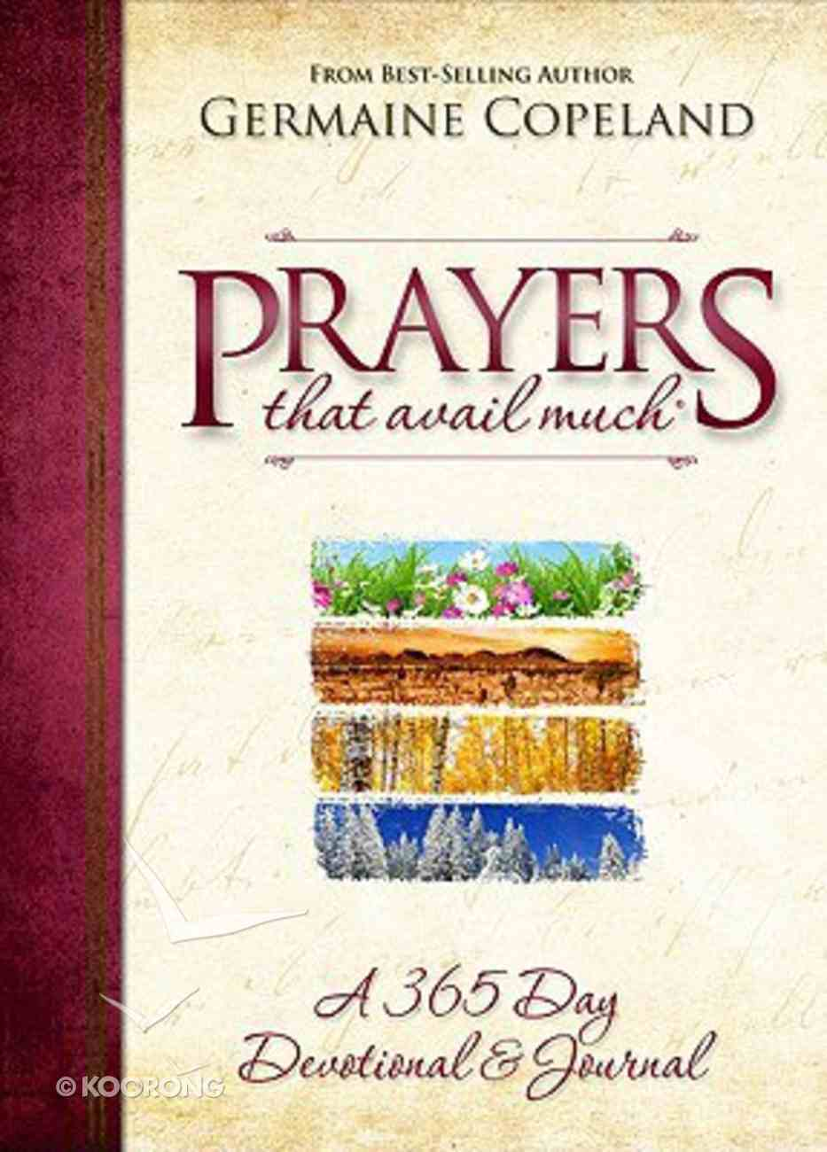 A 365 Day Devotional and Journal (Prayers That Avail Much Series) Paperback