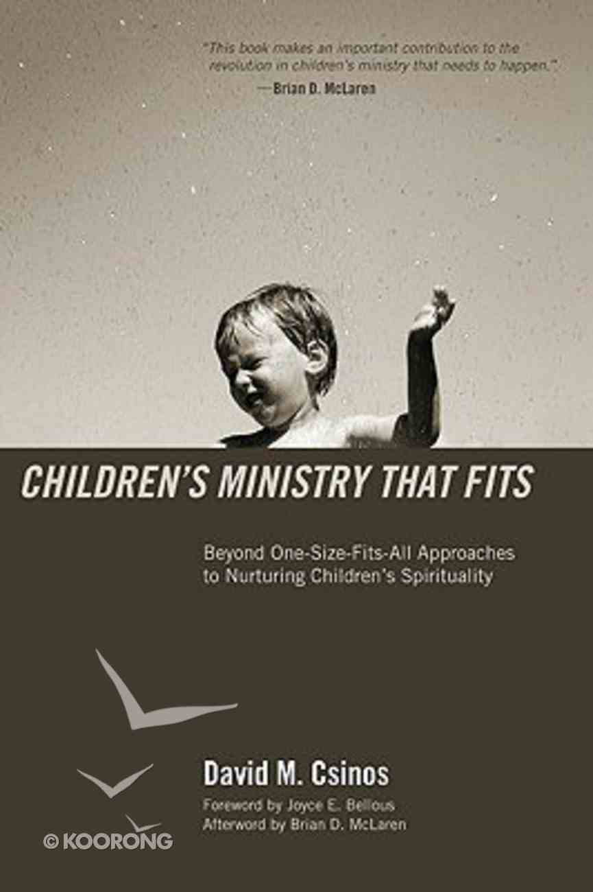 Children's Ministry That Fits Paperback