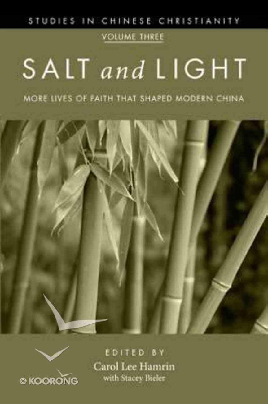 Salt and Light (Volume 3) Paperback
