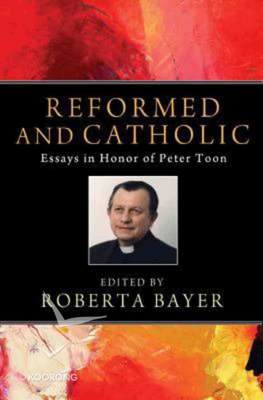 Reformed and Catholic Paperback