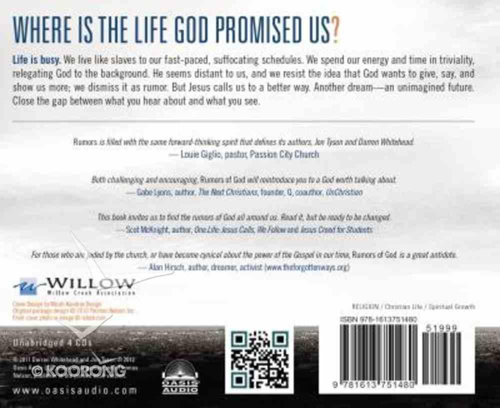 Rumors of God (Unabridged 4cds) CD