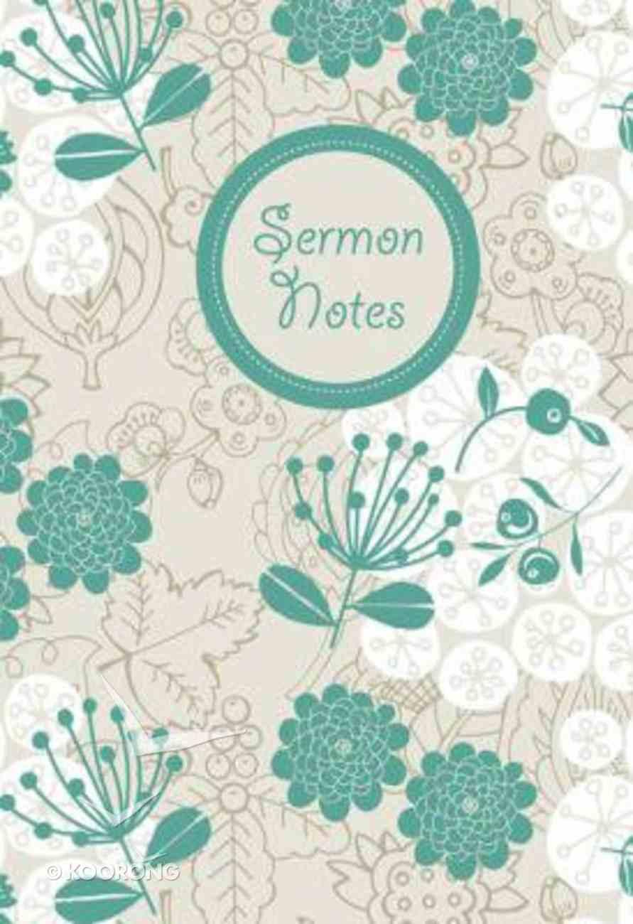 Sermon Notes Floral (Young Woman Design) Spiral