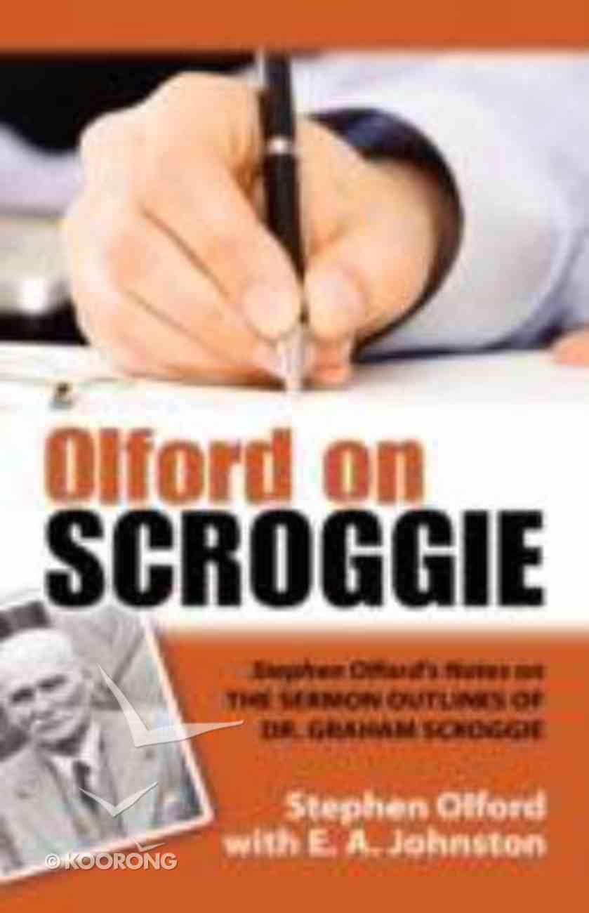 Olford on Scroggie Paperback