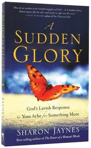 Product: Sudden Glory, A Image