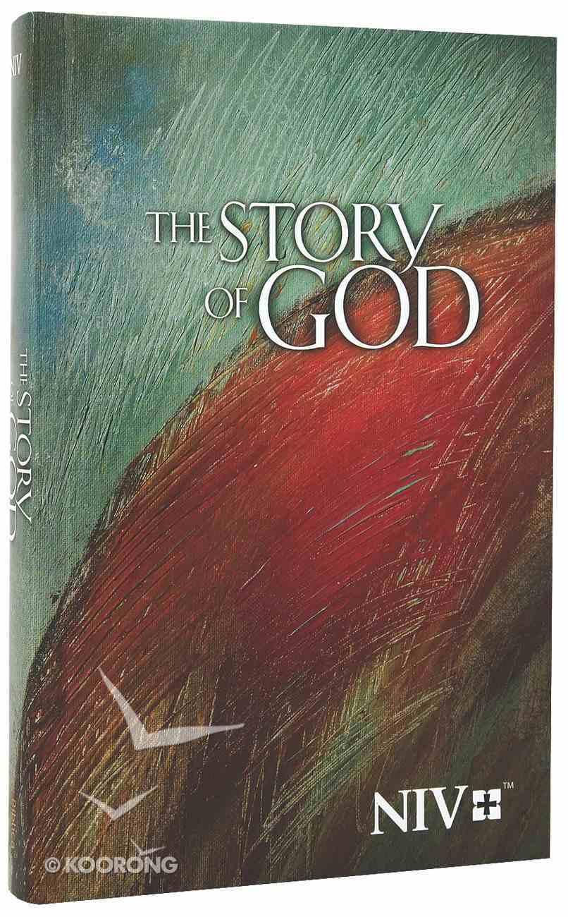 NIV Economy Bible - the Story of God Brushstrokes Hardback