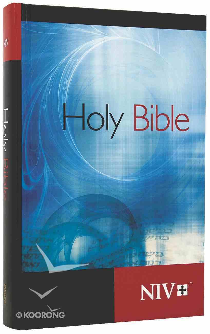 NIV Worship Bible Blue Swirl Hardback