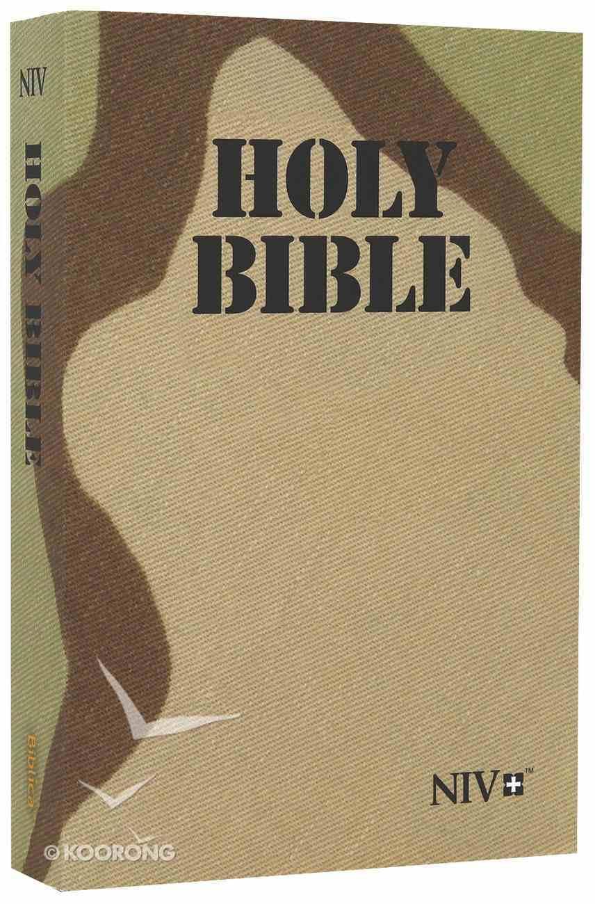 NIV Desert Camo Bible Paperback
