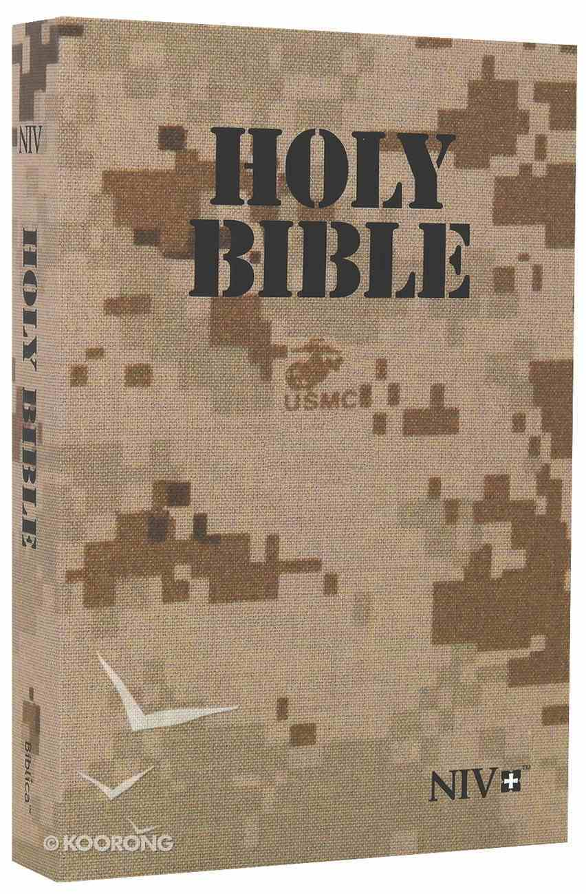 NIV Marine Digi Camo Bible Paperback