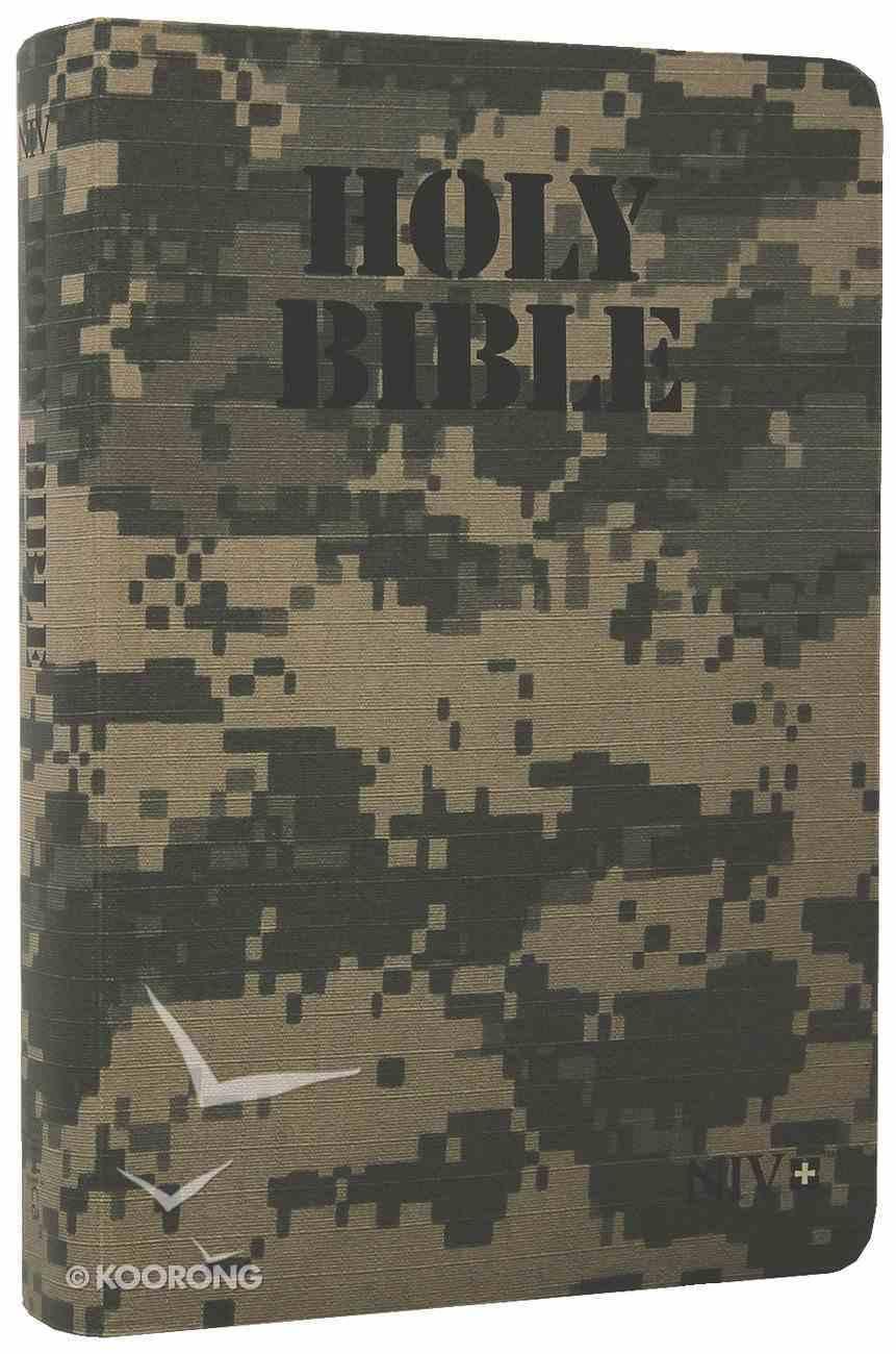 NIV Army Digi Camo Vinyl Bible Flexi Back