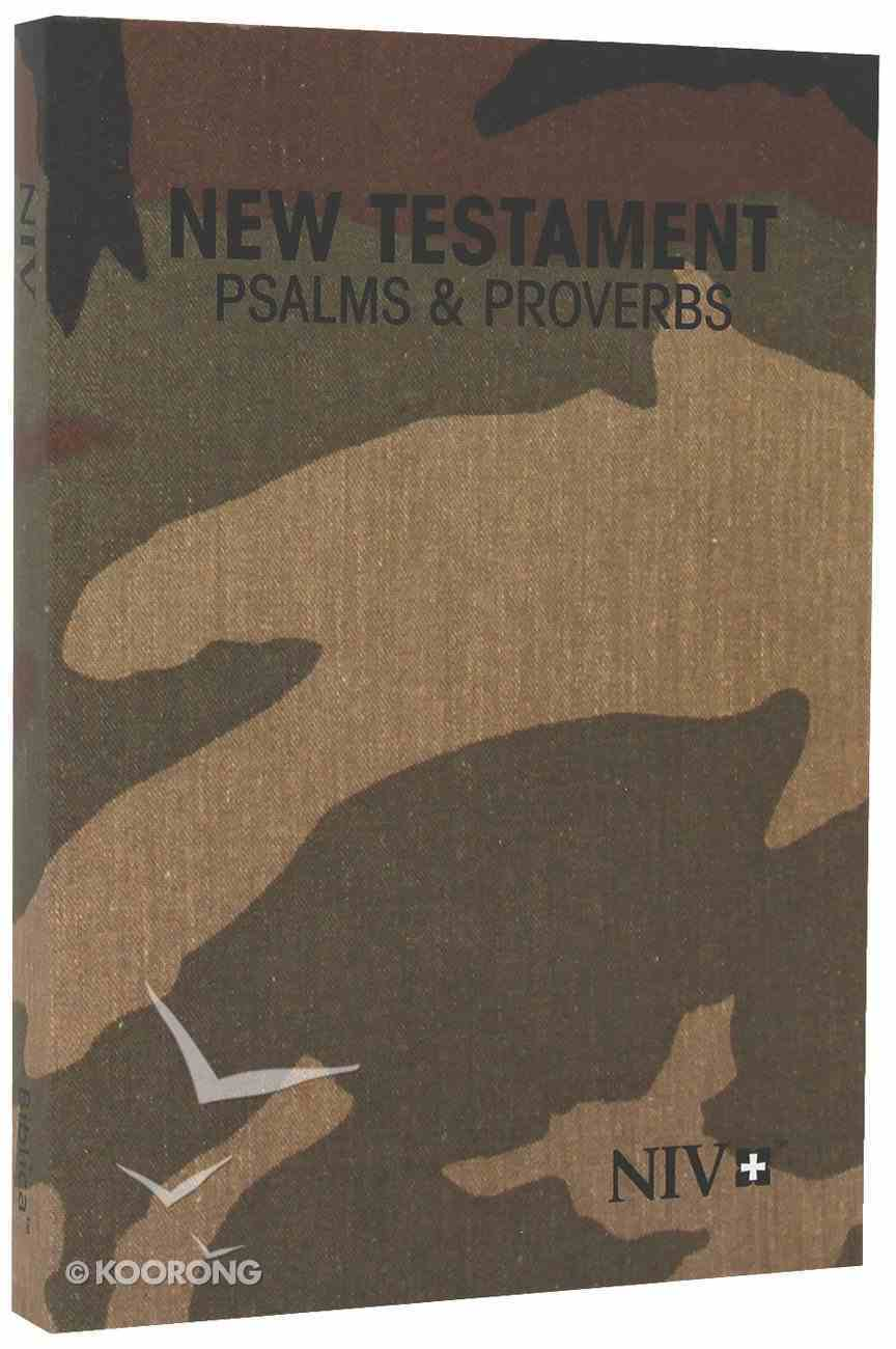 NIV Pocket New Testament With Psalms & Proverbs: Woodland Paperback