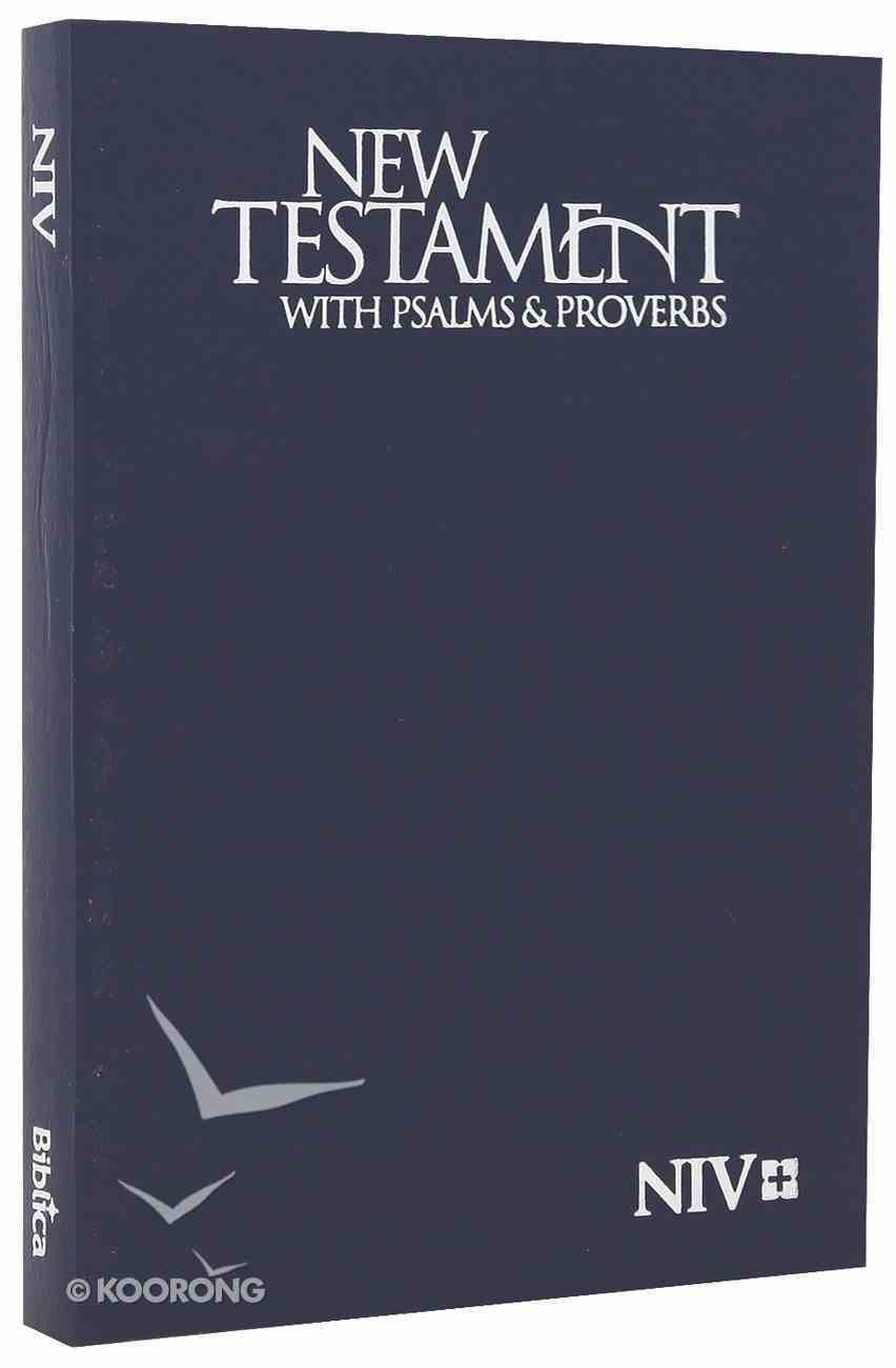 NIV Pocket New Testament With Psalms & Proverbs: Blue Paperback