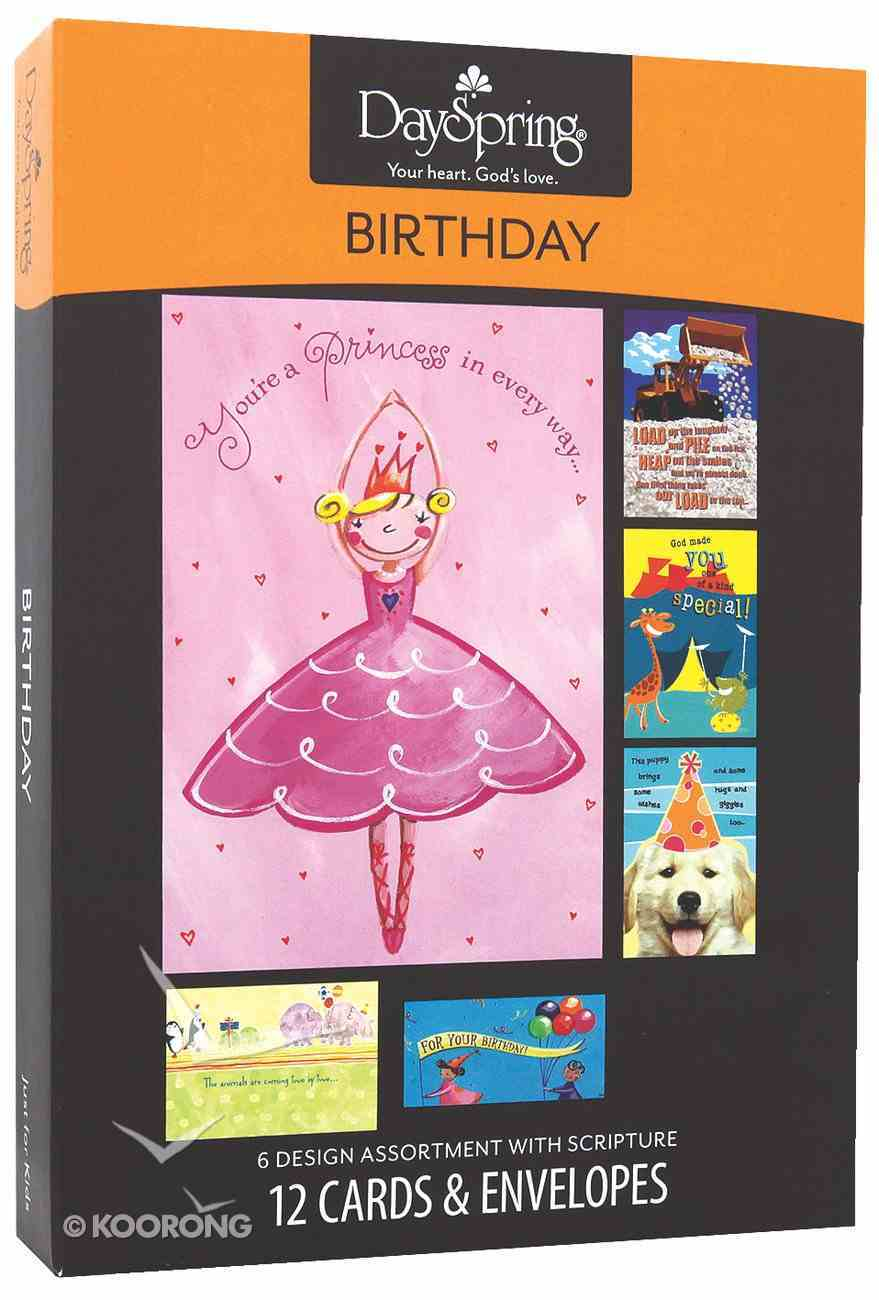 Boxed Cards Birthday: Just For Kids Box