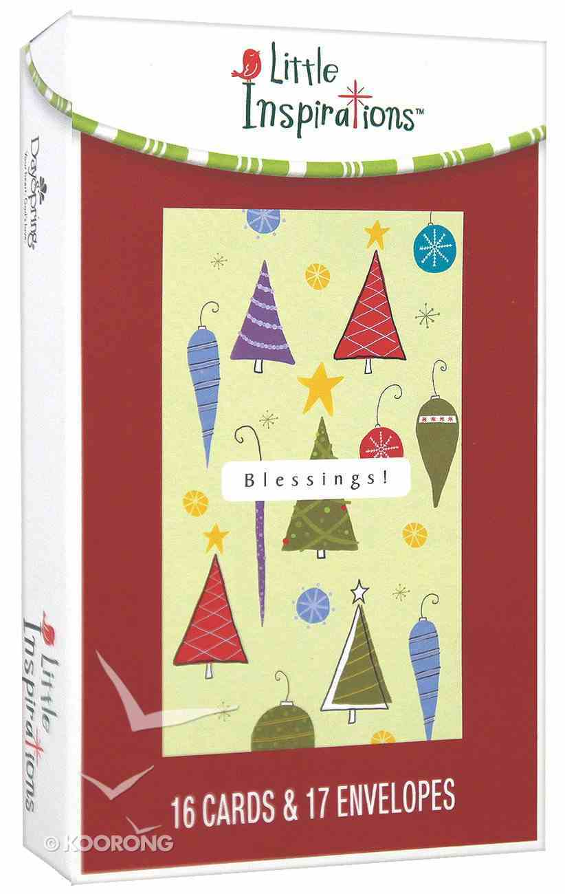 Christmas Boxed Cards: Blessings Box