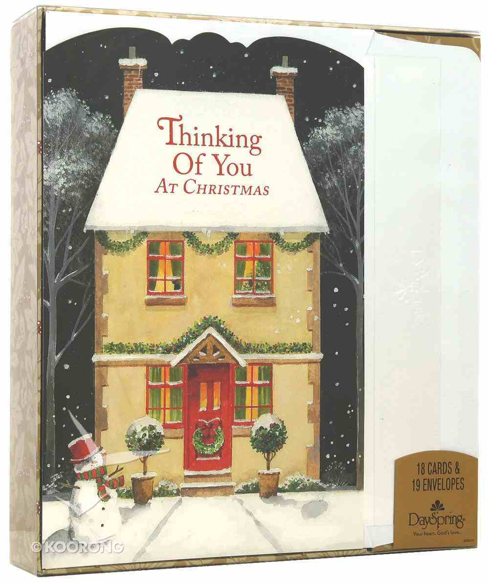 Christmas Boxed Cards: Thinking of You This Christmas Box