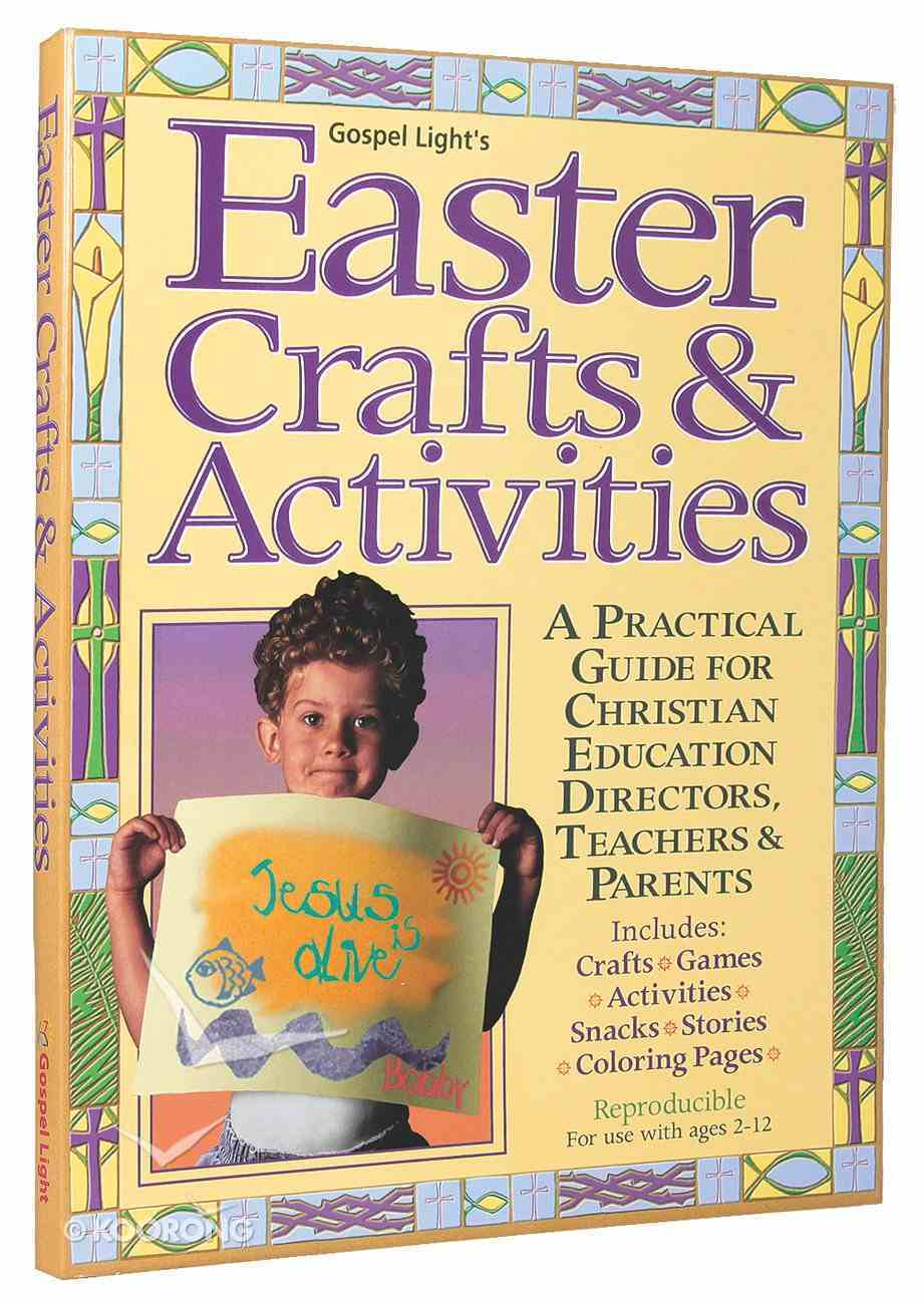 Easter Crafts and Activities Paperback