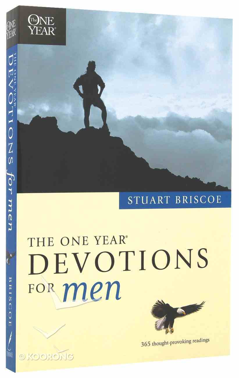 One Year Book of Devotions For Men Paperback